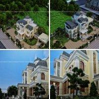 Biệt thự cổ điển tiểu cảnh sân vườn đẹp tại Tam Điệp Ninh Bình