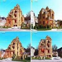 Mẫu thiết kế biệt thự tại Biên Hòa Đồng Nai