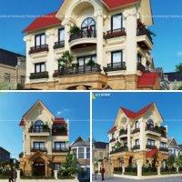 Căn biệt thự kiến trúc Pháp Tân Cổ điển đẹp tại tỉnh Vĩnh Phúc