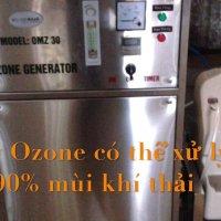 Máy ozone khử mùi khí thải nhà máy thức ăn chăn nuôi Febcom Thái Bình