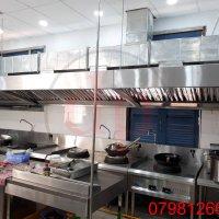 Bếp Á và thiết bị hút khói
