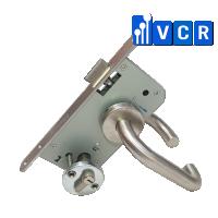 Khóa cửa tay cong có chìa S3-12C