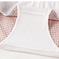 [LOYSIP] Quần lót nữ - Quần sịp/Nội y/Đồ lót cotton kháng khuẩn, họa tiết caro đính nơ